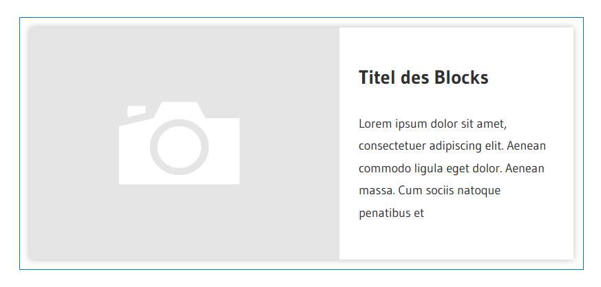 Image Card WordPress Block