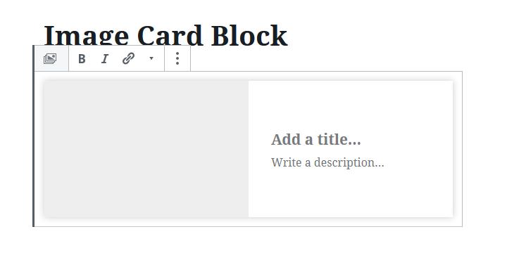 Image Card Block Teil 4