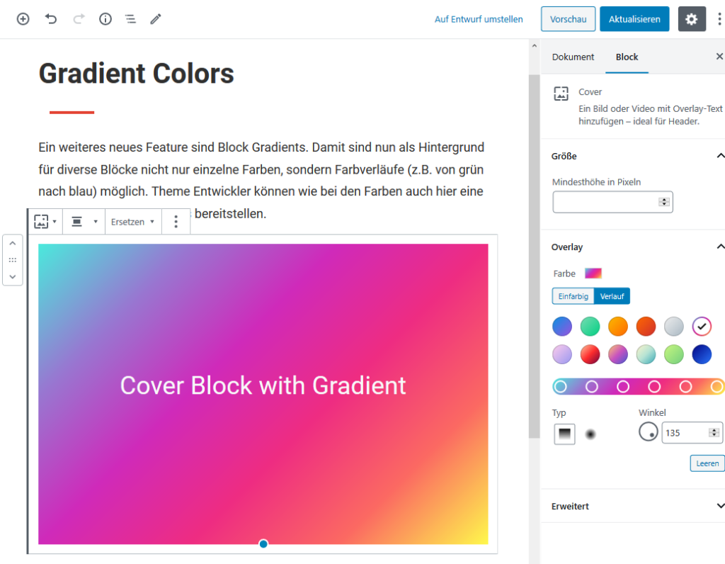 Block Gradients