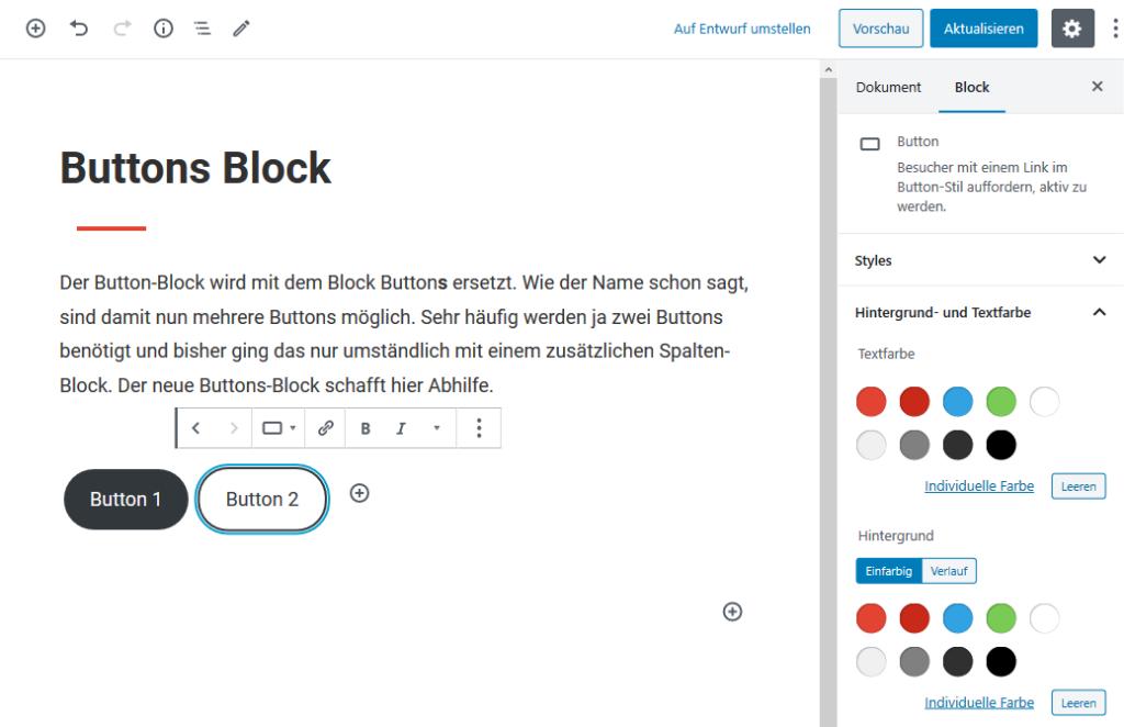 Buttons Block